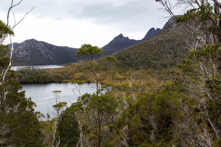 Lakes in the Cradle, Tasmania